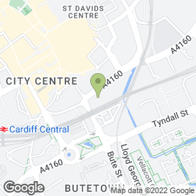 Map of H&M in Cardiff, south glamorgan