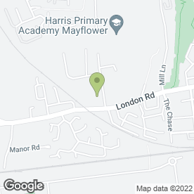 Map of John F Hunt Hire Centres Ltd in Grays, essex
