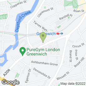 Map of National Tyres and Autocare in Greenwich, London, london