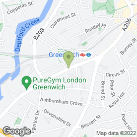 Map of North Pole Bar & Restaurant in London, london