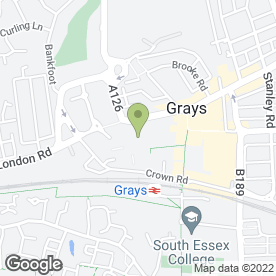 Map of National Tyres and Autocare in Grays, essex