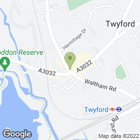 Map of STRAND HAIRDRESSING in Twyford, Reading, berkshire