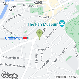 Map of Rivington Grill in London, london