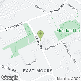 Map of Moore's Commercials in Cardiff, south glamorgan