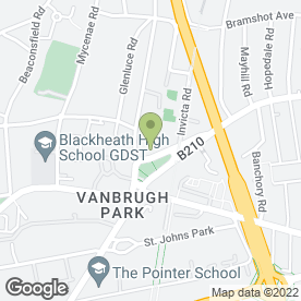 Map of The Blackheath Standard Surgery in London, london