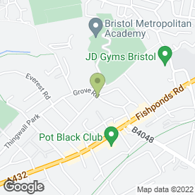 Map of E.J Heating & Engineering Co.Ltd in Fishponds, Bristol, avon
