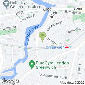 Map of Latisscientific in London, london