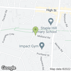 Map of Aquatec Rainsoft Ltd in Staple Hill, Bristol, avon