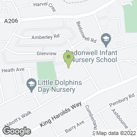 Map of LH Accountancy & Administration in Bexleyheath, kent