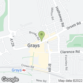 Map of The Trop Shop in Grays, essex
