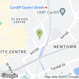 Map of St. Davids Sport & Stage Ltd in Cardiff, south glamorgan