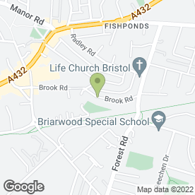 Map of Craft Carpentry Joinery in Fishponds, Bristol, avon
