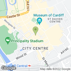 Map of Rohan Designs Ltd in Cardiff, south glamorgan