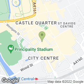 Map of SANDRINGHAM HOTEL in Cardiff, south glamorgan