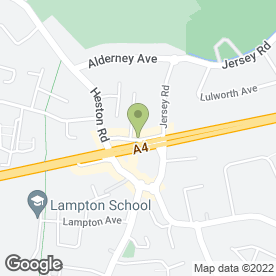 Map of Heston Locksmith in Hounslow, middlesex