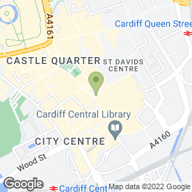 Map of Carphone Warehouse in Cardiff, south glamorgan