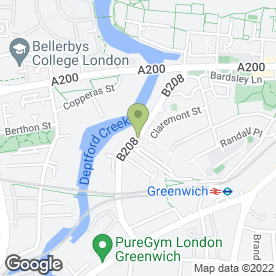 Map of Phione Ltd in London, london
