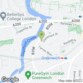 Map of aspect.co.uk Decorators in London, london