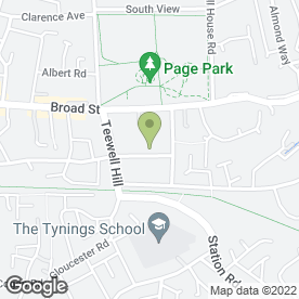 Map of Barrie Pring Roofing in Staple Hill, Bristol, avon