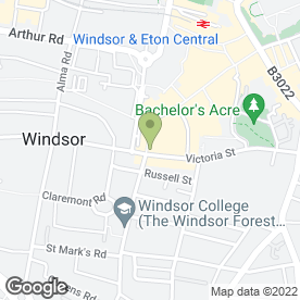Map of 700 in Windsor, berkshire