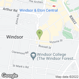 Map of Meimo in Windsor, berkshire
