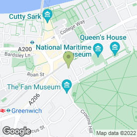 Map of King's Arms in Greenwich, London, london