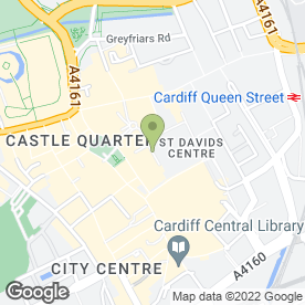 Map of 3 Store in Cardiff, south glamorgan