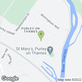 Map of James Fletcher Driveway Co in Purley On Thames, Reading, berkshire