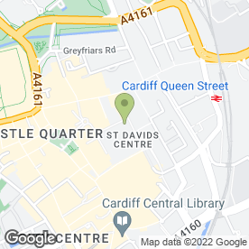 Map of 3 Mobile in Cardiff, south glamorgan