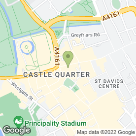 Map of McDonald's Restaurants Ltd in Cardiff, south glamorgan