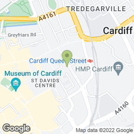 Map of Perfections Beauty Therapy in Cardiff, south glamorgan