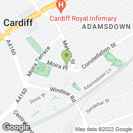 Map of McColl's in CARDIFF, south glamorgan