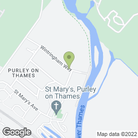 Map of Car & Collection Services in Purley On Thames, Reading, berkshire