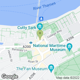 Map of Admiral Hardy in London, london