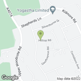 Map of CHRIS LEWINGTON DECORATING SERVICES in Caversham, Reading, berkshire