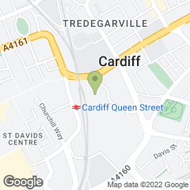 Map of Little Angels Nursery (Cardiff) Limited in Cardiff, south glamorgan