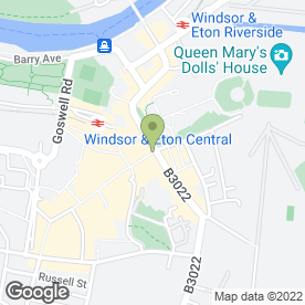 Map of Ben & Jerry's Windsor in Windsor, berkshire