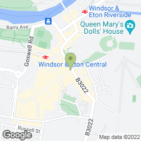 Map of The Salon in Windsor, berkshire