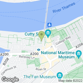 Map of Peter MacDonald in London, london