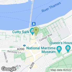Map of Old Royal Naval College in London, london