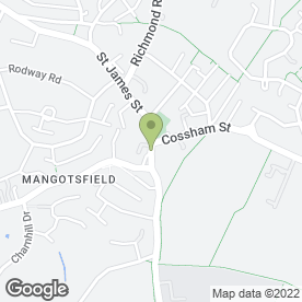 Map of Rosinamay Flowers in Mangotsfield, Bristol, avon
