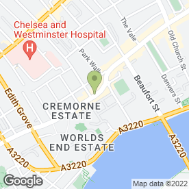 Map of Medlar Restaurant Ltd in London, london