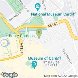 Map of Tiger Tiger in Cardiff, south glamorgan