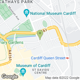 Map of J.R Smart Builders Ltd in Cardiff, south glamorgan