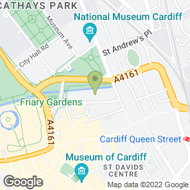 Map of The Laguna Health & Spa in Cardiff, south glamorgan