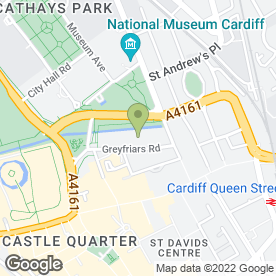 Map of PARK PLAZA CARDIFF in Cardiff, south glamorgan