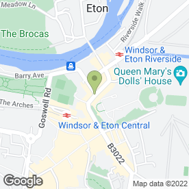 Map of Cafe Rouge in Windsor, berkshire