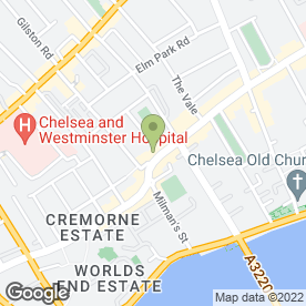 Map of Busaba Kings Road in London, london