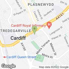 Map of Artemis Pest Control in Cardiff, south glamorgan