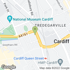 Map of Pest Solutions Ltd in Cardiff, south glamorgan